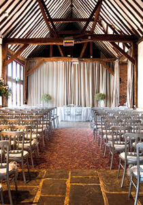 Wedding Ceremonies in a barn